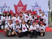 Más de 24 mil vietnamitas participan en carrera caritativa Terry Fox