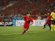 Embajadora de Vietnam estimula a equipo nacional de fútbol antes del partido mañana con Myanmar