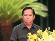 Arrestan a exvicepresidente de Ciudad Ho Chi Minh por transgresión