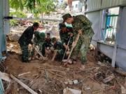 Premier de Vietnam pide acelerar mitigación de secuelas del tifón Toraji