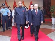 Presidente de la India concluye visita estatal a Vietnam