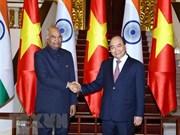 Vietnam y la India miran hacia intercambio comercial de 15 mil millones de dólares