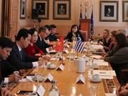 Capitales de Vietnam y Grecia robustecen cooperación cultural, turística y comercial
