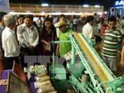 Más de un centenar de empresas participan en exhibición agrícola en Vietnam