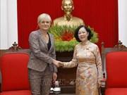 Vietnam considera importantes y prioriza nexos con Alemania