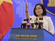 Vietnam exige a China poner fin inmediato sus actividades en Hoang Sa