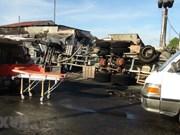 Explosión de camión cisterna deja seis muertos en Vietnam