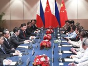 China y Filipinas acuerdan fortalecer intercambios legislativos