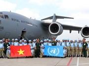 Debaten respaldo a Vietnam en participación en el manteminiento de paz de la ONU