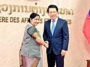 Laos y la India trazan itinerario para la futura colaboración multisectorial