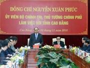 Premier vietnamita exige a la provincia de Cao Bang empeñarse en aprovechar sus potencialidades