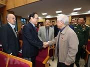 Máximo dirigente partidista y estatal de Vietnam dialoga con votantes de Hanoi