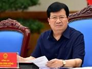 Vicepremier de Vietnam insta a revisar cambios propuestos al plan maestro de Hanoi