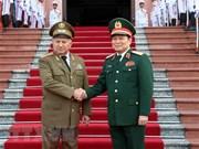 Vietnam y Cuba refuerzan lazos en defensa