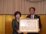 Japón concede Orden del Sol Naciente a investigadora vietnamita