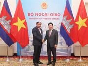 Vietnam y Camboya ratifican compromiso con fortalecimiento de relaciones bilaterales