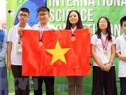 Alumnos vietnamitas ganan seis medallas de oro en concurso de ciencia ISC