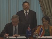 Tailandia y Australia firman acuerdo contra la trata de personas