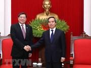 Dirigente partidista vietnamita insta a mayor cooperación con provincia china de Hunan