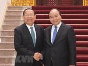 Premier vietnamita recibe a ministro de Planificación de Camboya