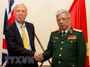 Efectúan primer Diálogo sobre políticas de defensa Vietnam-Reino Unido