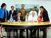 Concluye sesión intergubernamental entre Vietnam y Cuba