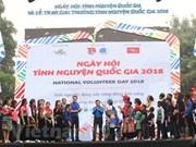 Celebran diversas actividades en Hanoi por Día Nacional de los Voluntarios