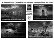 Fotógrafos vietnamitas obtienen 12 premios en concurso internacional en Turquía