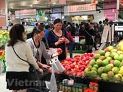 Crecen exportaciones de frutas y verduras vietnamitas en lo que va de año