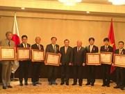 Centro de salud de Japón recibe Orden de Trabajo de Vietnam