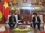 Ciudad alemana brinda asistencia a Hanoi para mejorar tratamiento de agua residual