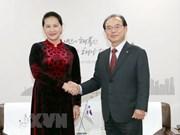 Vietnam atesora lazos con Corea del Sur, afirma máxima legisladora