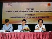 Vietnam trabaja por cumplir con compromisos laborales en acuerdos comerciales globales