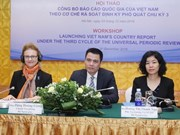 Vietnam presenta informe nacional de Examen Periódico Universal