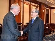 Ciudad Ho Chi Minh fortalece colaboración con Reino Unido