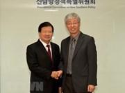Vietnam y Corea del Sur fijan meta de alcanzar 100 mil millones de dólares de comercio en 2020