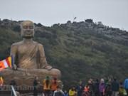 Celebran solemne ceremonia en homenaje a rey budista Tran Nhan Tong