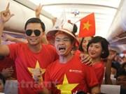 Vietnam Airlines aumentará vuelos a Malasia para aficionados vietnamitas de fútbol