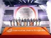 Inauguran fábrica de Motores Aéreos Hanwha en Hanoi