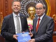 Ciudad Ho Chi Minh aspira a una mayor cooperación con urbe alemana de Leipzig