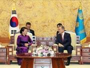 Prensa surcoreana dedica espacios a reunión entre presidente de Corea del Sur y titular parlamentaria de Vietnam