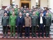 Destacan avances del Comité del Partido de Seguridad Pública de Vietnam