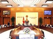Comité Permanente del Parlamento de Vietnam revisa ajustes del programa de ley 2019