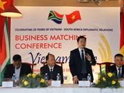 Estudian posibilidades para impulsar intercambio comercial Vietnam- Sudáfrica