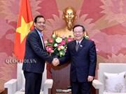 Vicepresidente del Parlamento de Vietnam recibe a directivo de Coca-Cola
