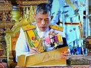 Rey tailandés confía en desarrollo creciente de relaciones con Vietnam