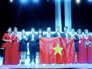 Estudiantes vietnamitas obtienen altos resultados en Olimpiada Internacional de Ciencia Juvenil
