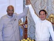 La India y Myanmar impulsan nexos bilaterales