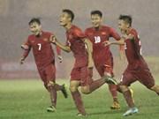 Equipo de fútbol sub-21 vietnamita conquistó primera victoria en torneo internacional
