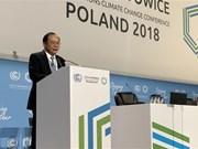Vietnam llama a comunidad internacional a compartir intereses para enfrentar el cambio climático
